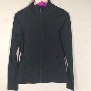 Kyodan jacket zip up black/gray/pink sz. M